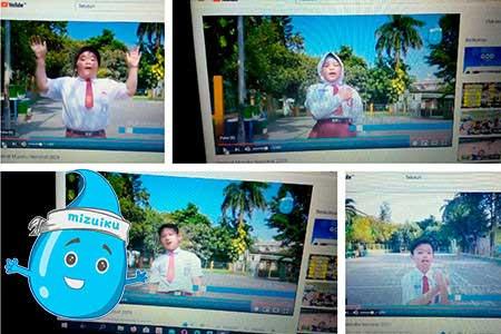 "First Mizuiku ""I Love Clean Water"" National Festival in Indonesia"
