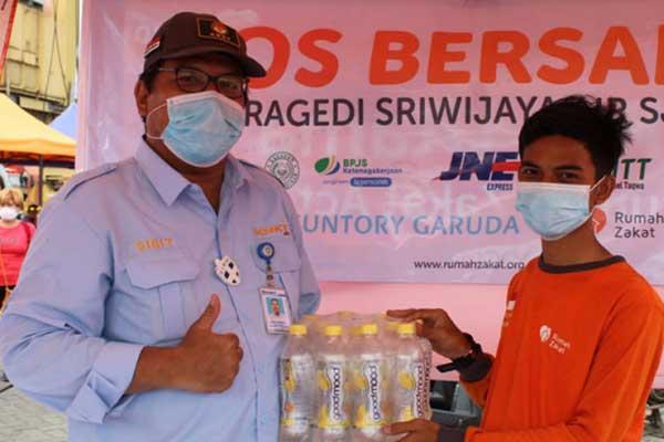 Support Evacuation Post SJ182 and Flood at South Kalimantan
