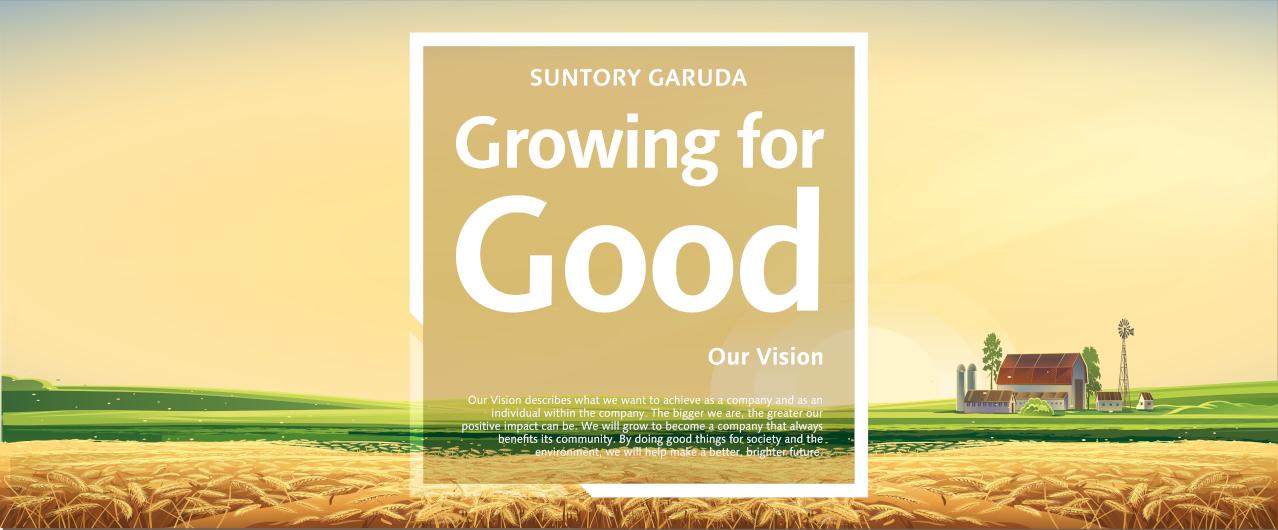 Tujuan perusahaan untuk bertumbuh dan memberikan kebaikan kepada masyarakat